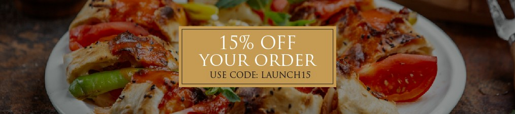 20 % Off Pizzas